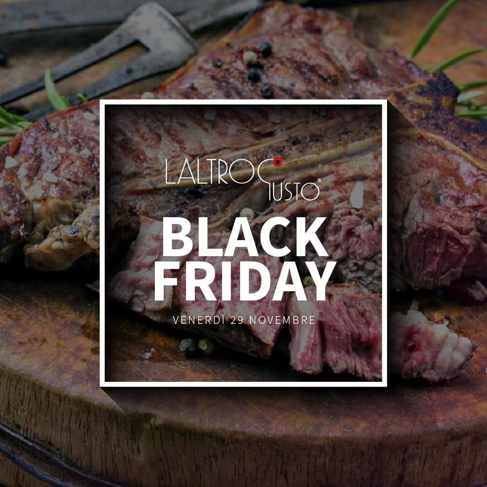 Black Friday a LaltroGusto